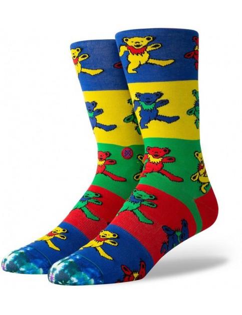 Stance Grateful Bearz Crew Socks in Multi