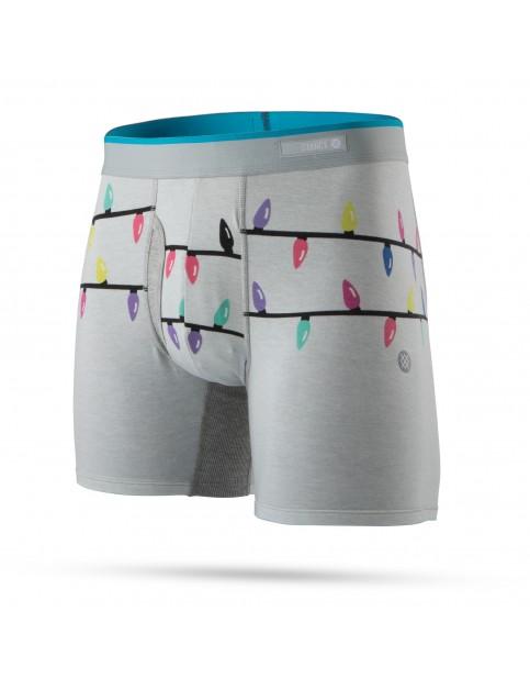 Stance String Lights Underwear in Grey