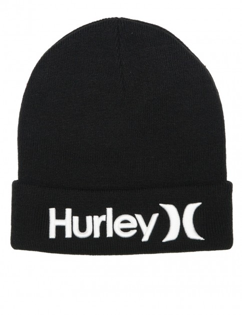 Hurley Corp cuff beanie - Black
