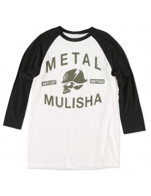 Optic White Metal Mulisha Flash Raglan Long Sleeve T-Shirt