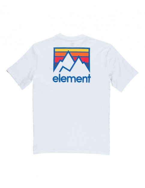 Element Joint Short Sleeve T-Shirt in Optic White