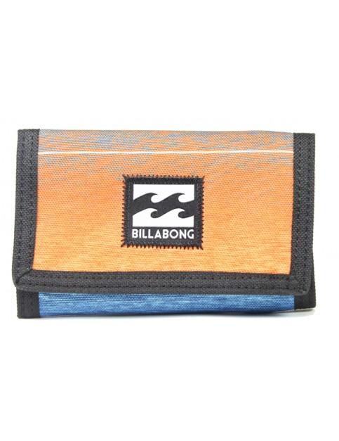 Billabong Atom Polyester Wallet in Orange