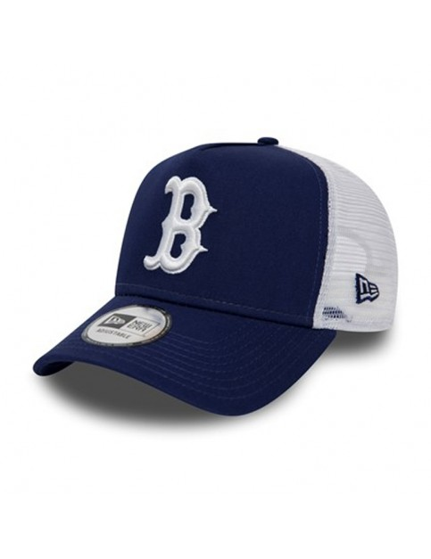 New Era Boston Red Sox Trucker Cap in DRYWHI