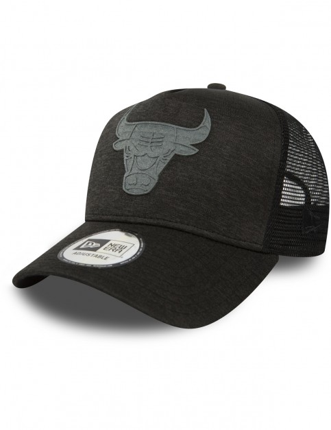 New Era Chicago Bulls Trucker Cap in Black