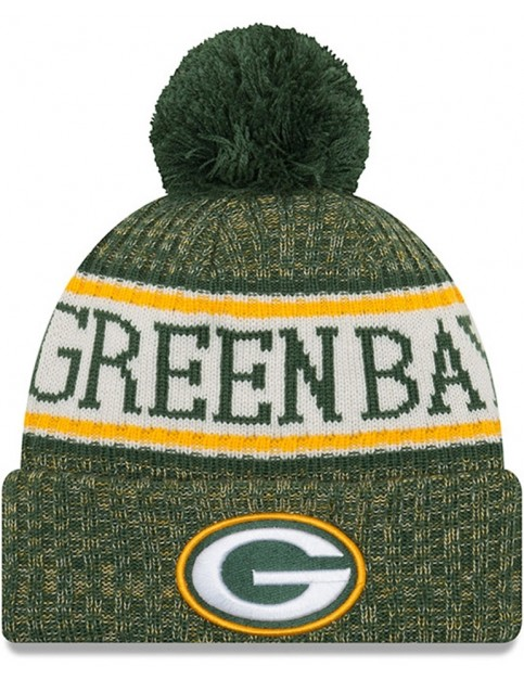 New Era Green Bay Packers Bobble Hat in Green
