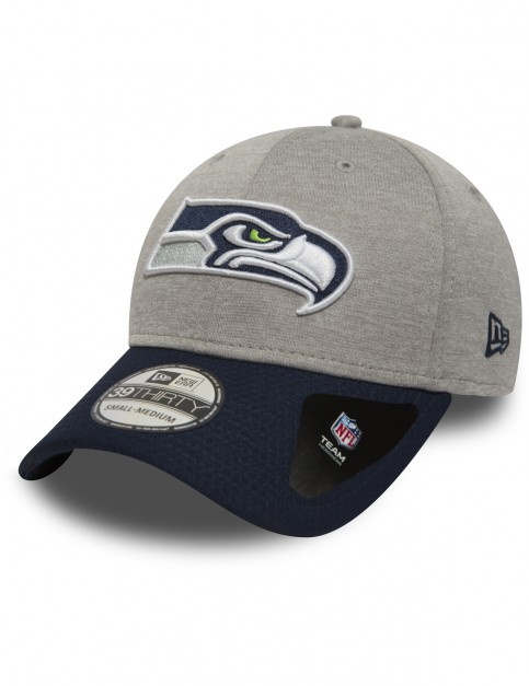 New Era Jersey Hex 39Thirty Seattle Seahawks Cap in Grey