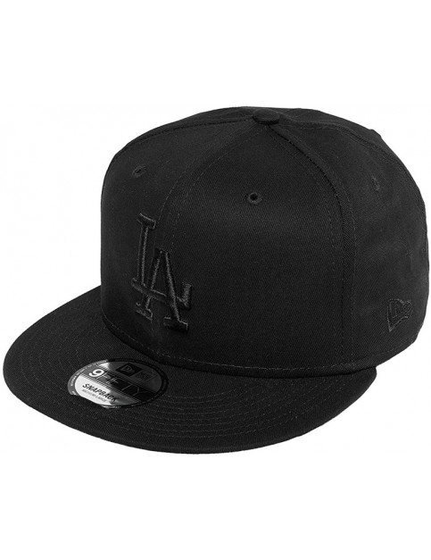 New Era Los Angeles Dodgers Blkblk Cap in Black