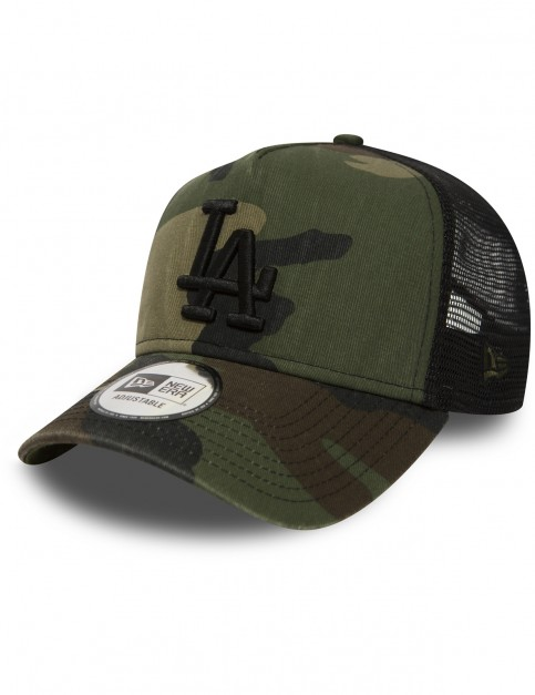 New Era Los Angeles Dodgers Trucker Cap in Camo