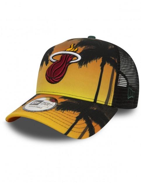 New Era Miami Heat Trucker Cap