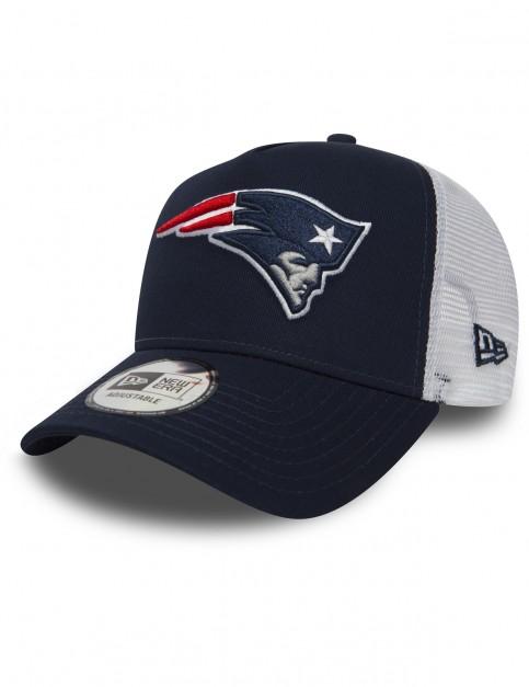 New Era New England Patriots Trucker Cap in Blue