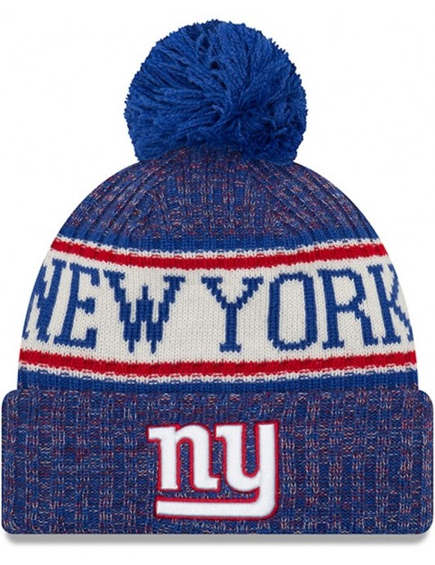 New Era New York Giants Bobble Hat in Blue