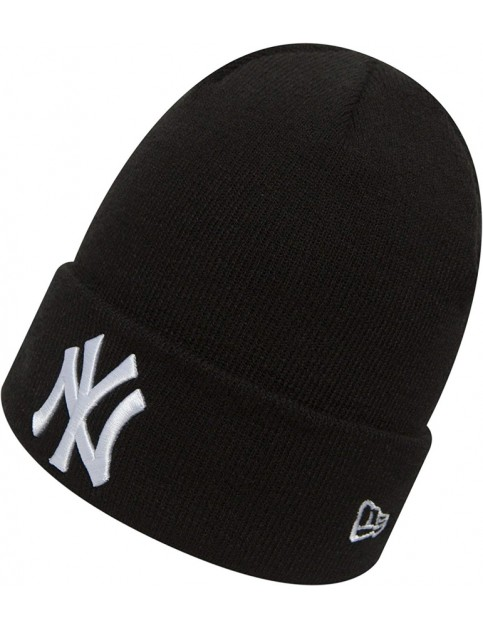 New Era New York Yankees Beanie in Black