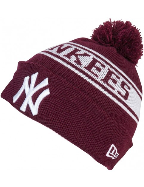 New Era New York Yankees Bobble Hat in Red