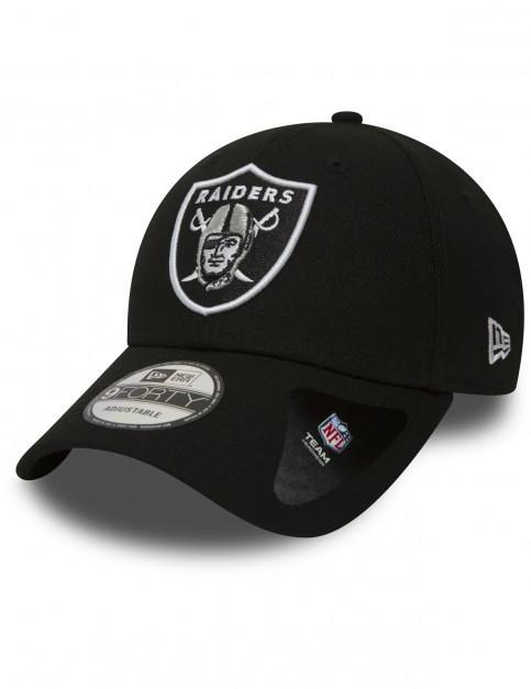 New Era NFL Oakland Raiders Cap in Black