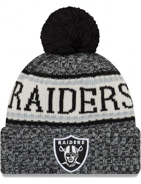New Era Oakland Raiders Bobble Hat