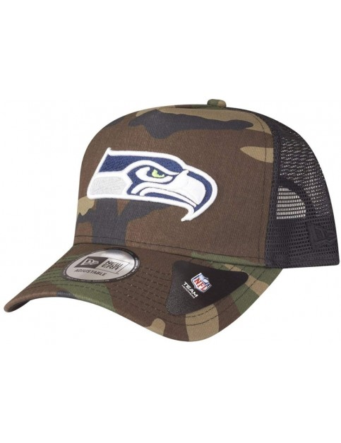 New Era Seattle Seahawks Cap in Camo