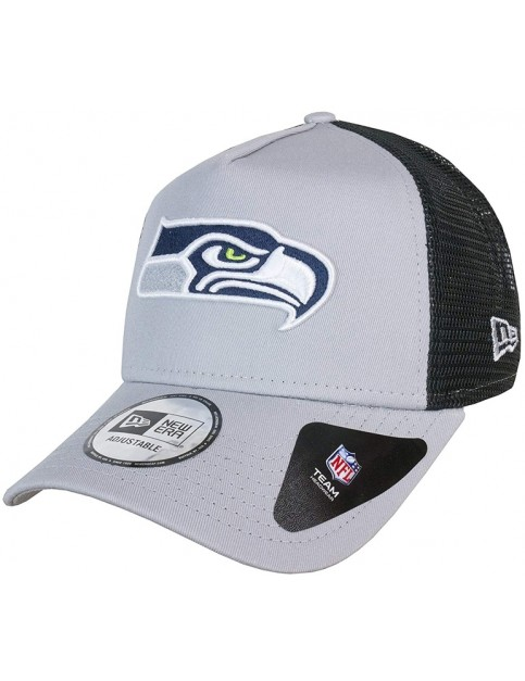 New Era Seattle Seahawks Cap in Grey