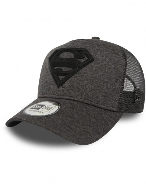 New Era Superman Trucker Cap in Black
