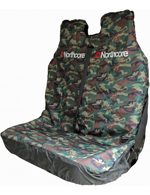 Northcore Camo Double Car Seat Cover in Camo