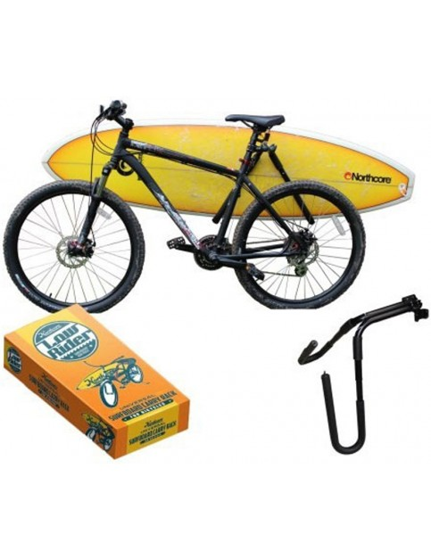 Northcore Lowrider Bike Board Carry Rack Fun Stuff in Black