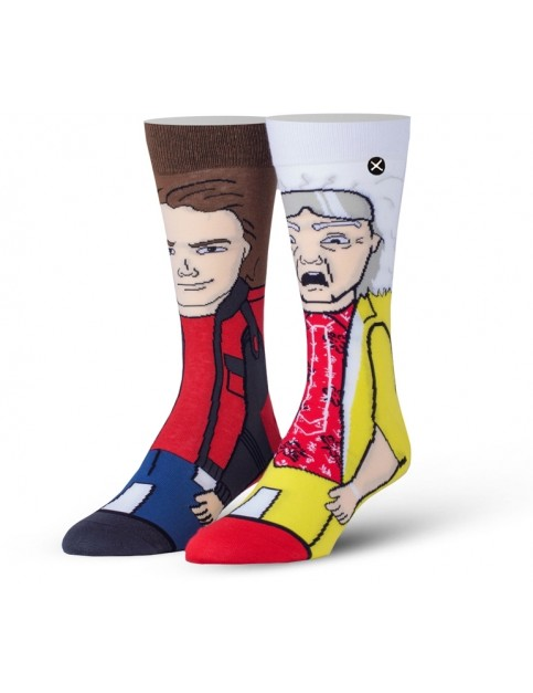 Odd Sox Back To The Future Part 2 Crew Socks in Multi