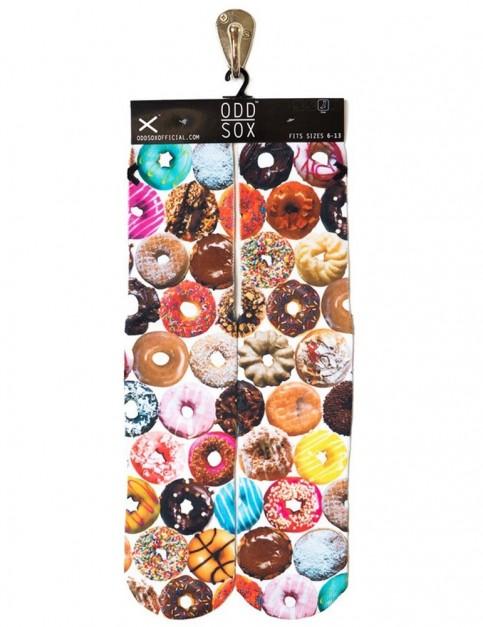 Odd Sox Doughnut Flavors Crew Socks