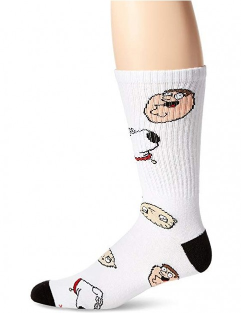 Odd Sox Family Guy Crew Socks in Multi