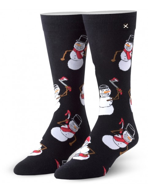Odd Sox Killer Snowmen Crew Socks