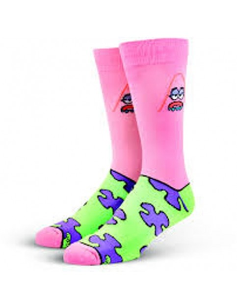 Odd Sox Patrick Starfish Crew Socks in Multi