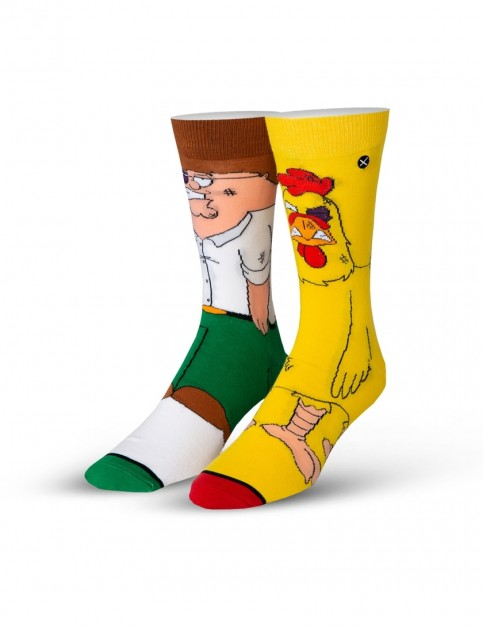 Odd Sox Peter Vs Chicken 360 Crew Socks