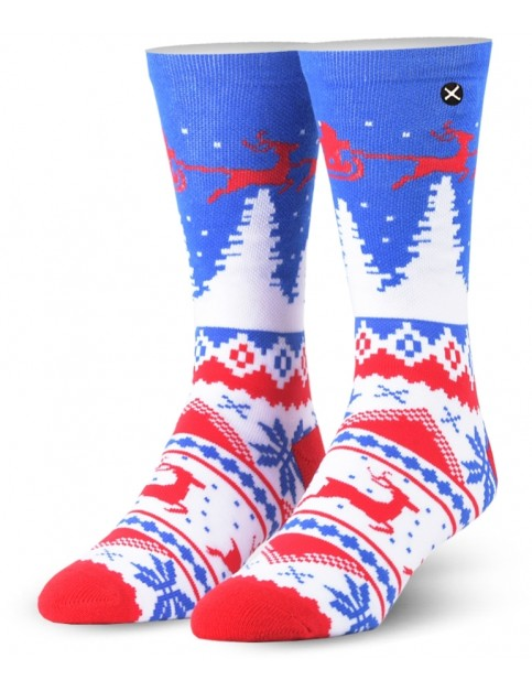 Odd Sox Winter Crew Socks in Multi