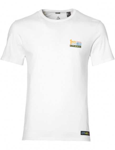 ONeill 1st Name Short Sleeve T-Shirt in Super White