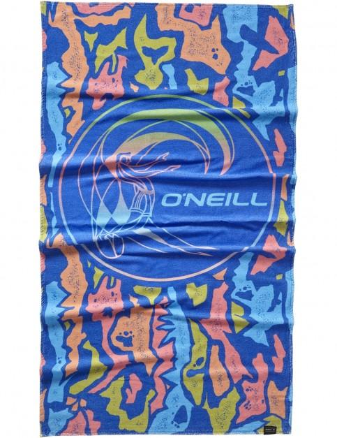 ONeill Bm O'neill Logo Beach Towel in Blue Aop