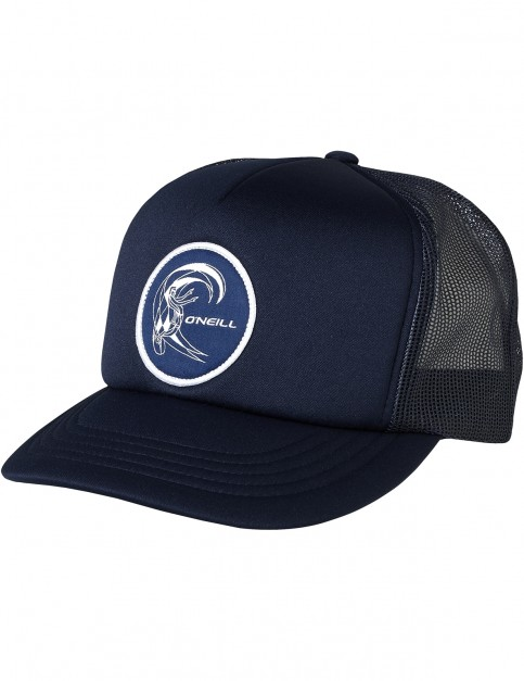 ONeill Bm Trucker Cap in Atlantic Blue