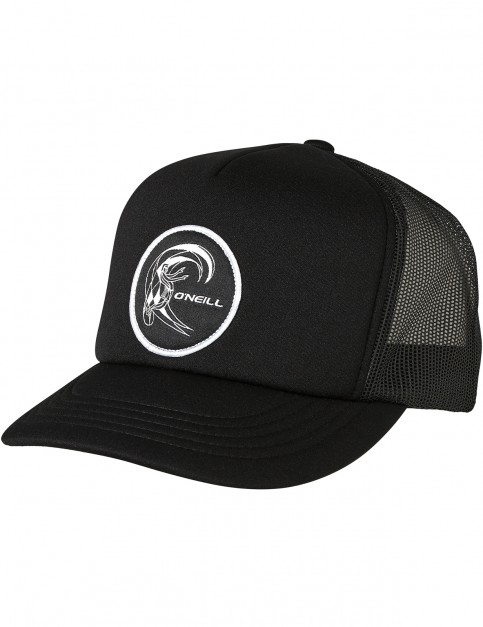 ONeill Bm Trucker Cap in Black Out