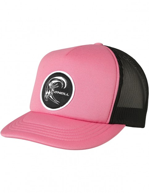 ONeill Bm Trucker Cap in Shocking Pink