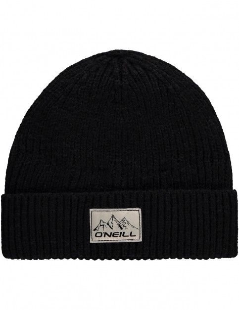 ONeill Bouncer Wool Beanie in Black Out