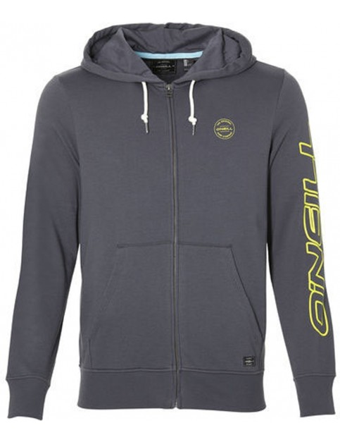 ONeill Cali Zipped Hoody in Asphalt