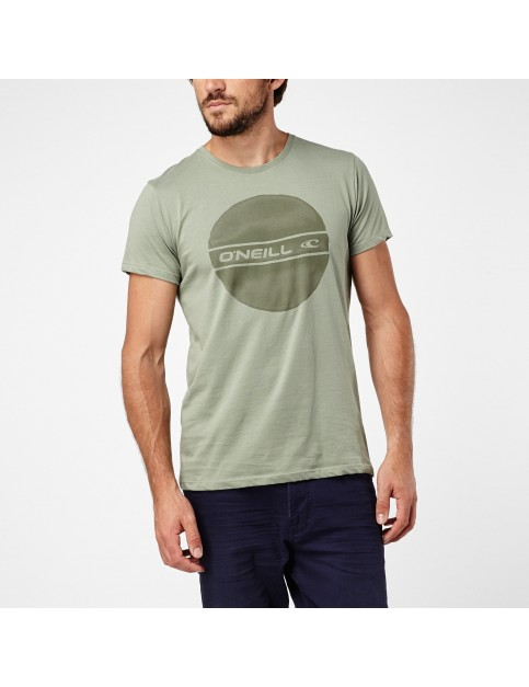 ONeill Circle Logo Short Sleeve T-Shirt in Lily Pad