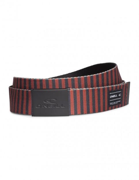 Red Aop ONeill Classic Webbing Belt