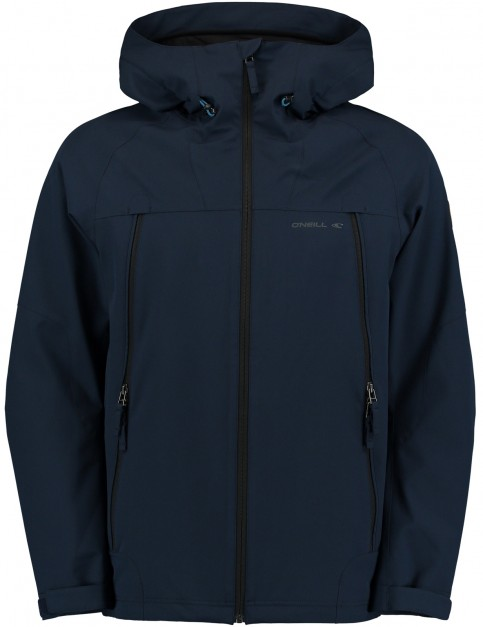 ONeill Hail Shell Parka Jacket in Ink Blue