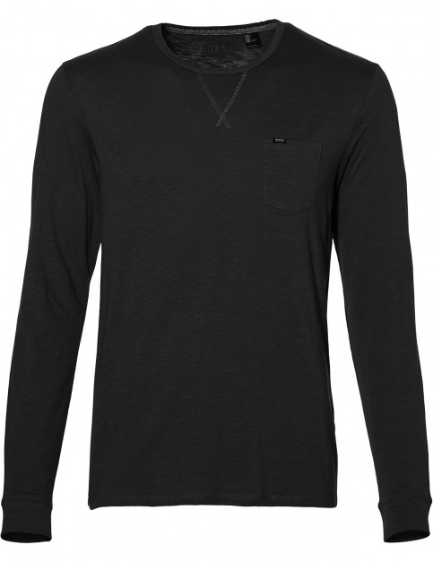 ONeill Jack's Base Long Sleeve T-Shirt in Black Out