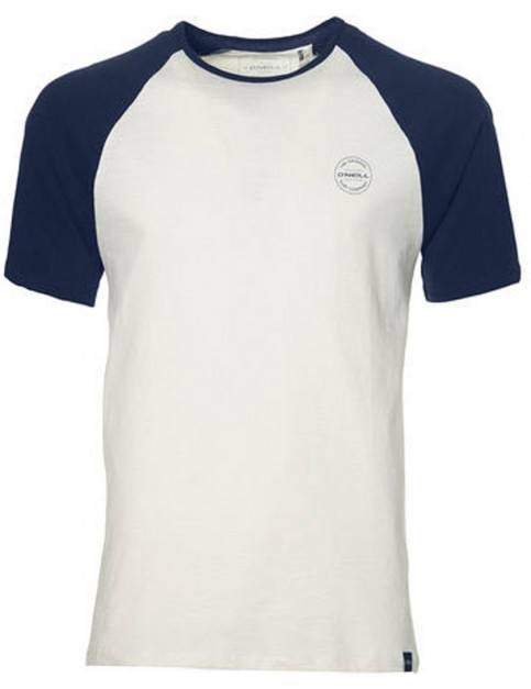 ONeill Jack's Short Sleeve T-Shirt in Ink Blue