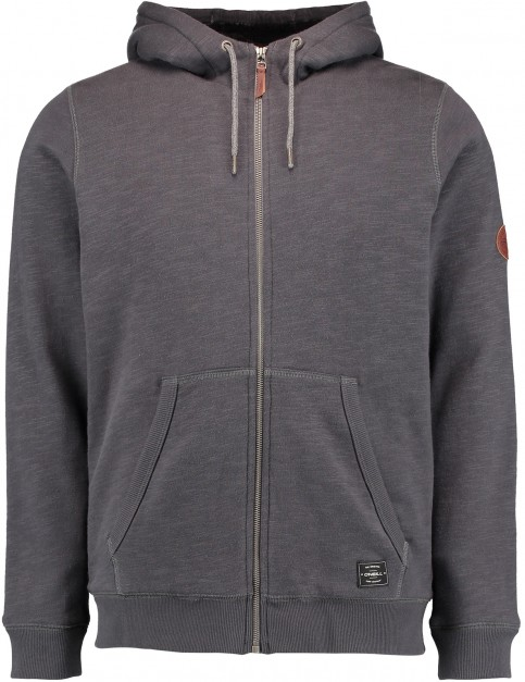 ONeill Jacks Base Sherpa Hoody in Asphalt
