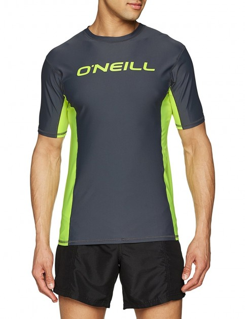 ONeill Lake Short Sleeve T-Shirt in New Safety Yellow