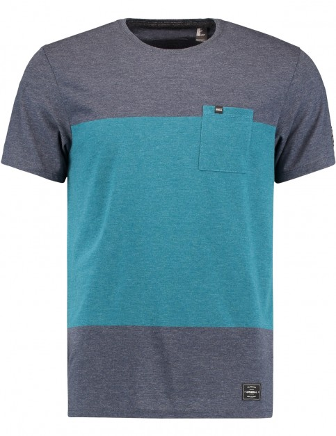 ONeill Modern Short Sleeve T-Shirt in Ink Blue