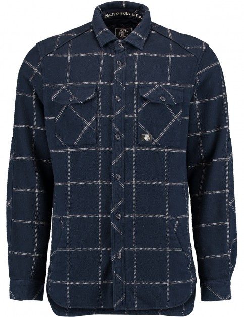 Oneill Mountain Long Sleeve Shirt in Blue Aop
