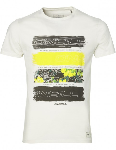 ONeill Photo Filler Short Sleeve T-Shirt in Powder White