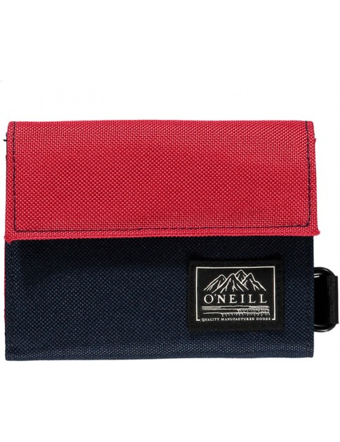 ONeill Pocketbook Polyester Wallet in Scooter Red