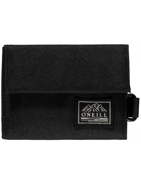 ONeill Pocketbook Polyester Wallet in Black Out